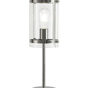 Lichfield Lighting Pinfold Table Lamp, 1 Light E27, Polished Chrome photo 1