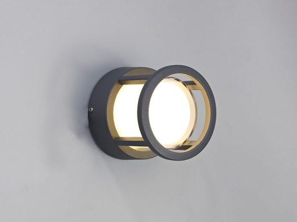 Lichfield Lighting Romilly Round Downlight, 1 x 6W LED, 3000K, 360lm, IP54, Anthracite, 3yrs Warranty photo 3