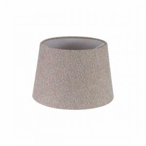 Lichfield Lighting Verdi Round, 240/300 x 200mm Fabric Shade, Multi/White Laminate photo 1