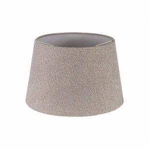Lichfield Lighting Verdi Round, 280/350 x 220mm Fabric Shade, Multi/White Laminate photo 1