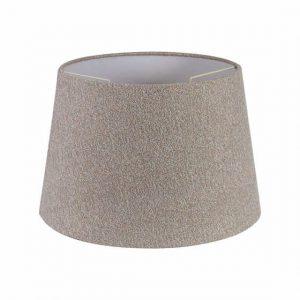 Lichfield Lighting Verdi Round, 320/400 x 260mm Fabric Shade, Multi/White Laminate photo 1
