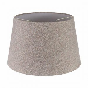 Lichfield Lighting Verdi Round, 350/450 x 280mm Fabric Shade, Multi/White Laminate photo 1