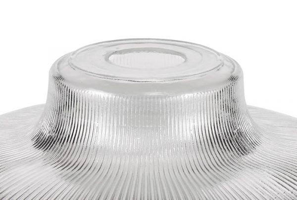 Lichfield Lighting Lime Round 30cm Clear Glass Lampshade photo 3
