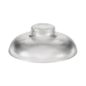 Lichfield Lighting Lime Round 30cm Clear Glass Lampshade photo 1