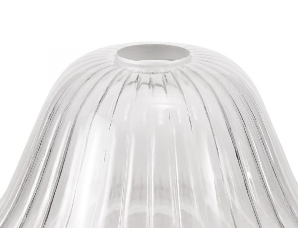 Lichfield Lighting Lime Bell 30cm Clear Glass Lampshade photo 2