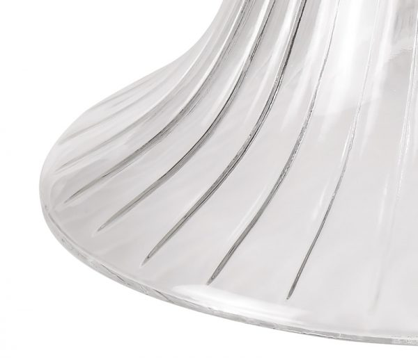 Lichfield Lighting Lime Bell 30cm Clear Glass Lampshade photo 3