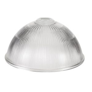 Lichfield Lighting Lime Dome 38cm Clear Glass Lampshade photo 1