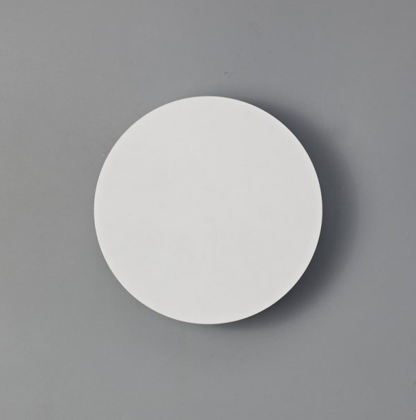 Lichfield Lighting Maxwell Magnetic Base Wall Lamp, 12W LED 3000K 498lm, 20cm Round, Sand White photo 3