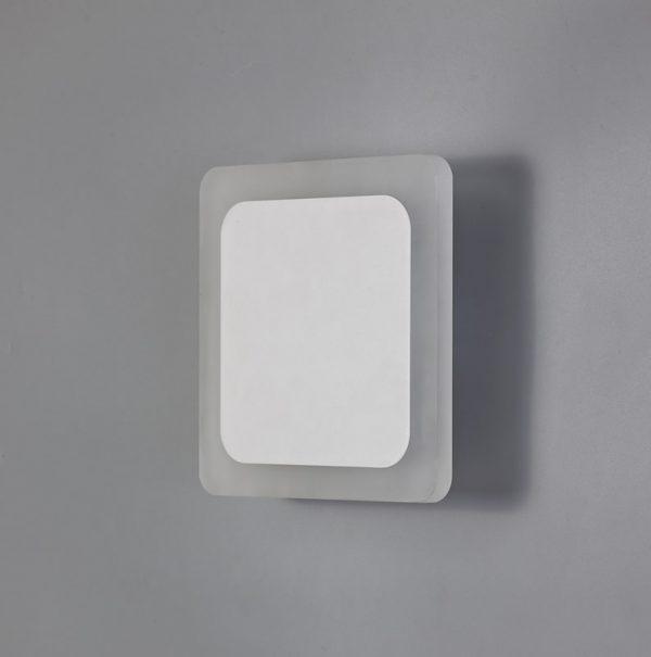 Lichfield Lighting Maxwell Magnetic Base Wall Lamp, 12W LED 3000K 498lm, 15/19cm Square Centre, Sand White/Acrylic Frosted Diffuser photo 2