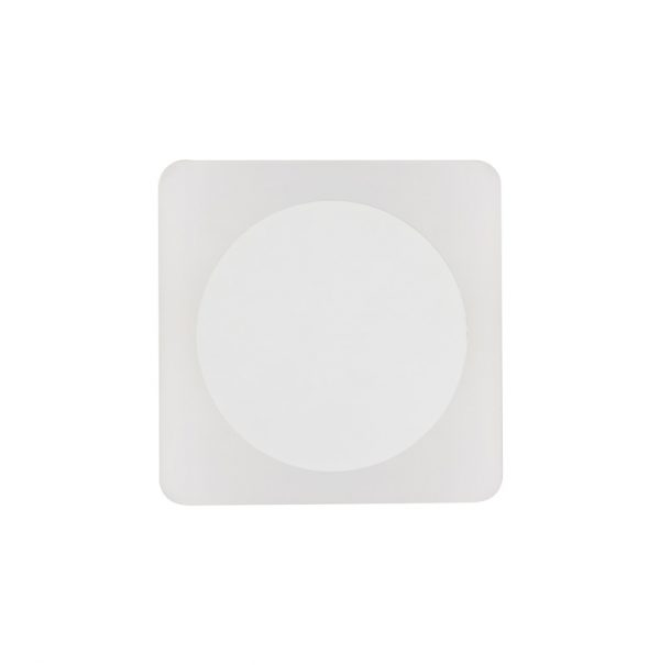 Lichfield Lighting Maxwell Magnetic Base Wall Lamp, 12W LED 3000K 498lm, 15cm Round 19cm Square Centre, Sand White/Acrylic Frosted Diffuser photo 3
