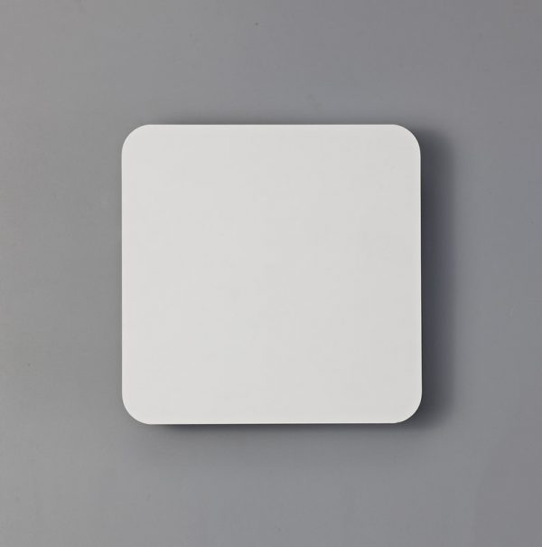 Lichfield Lighting Maxwell Magnetic Base Wall Lamp, 12W LED 3000K 498lm, 20/19cm Square Centre, Sand White/Acrylic Frosted Diffuser photo 3