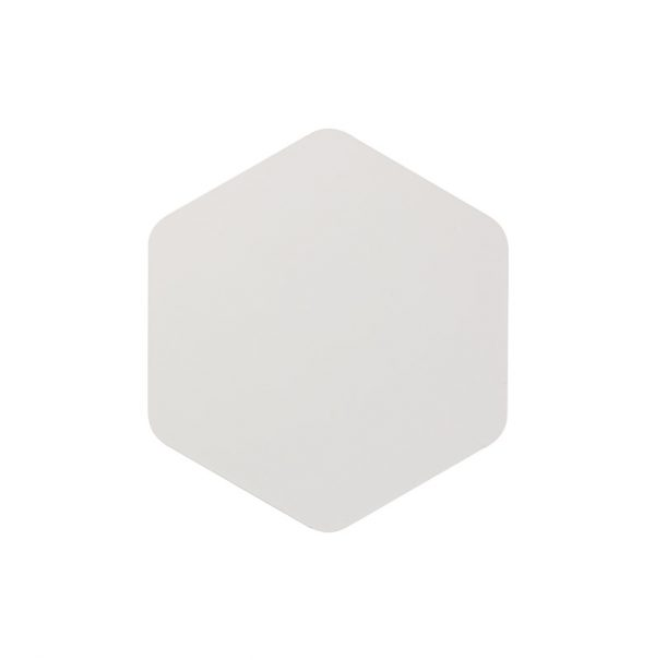 Lichfield Lighting Maxwell Magnetic Base Wall Lamp, 12W LED 3000K 498lm, 20/19cm Vertical Hexagonal Centre, Sand White/Acrylic Frosted Diffuser photo 3