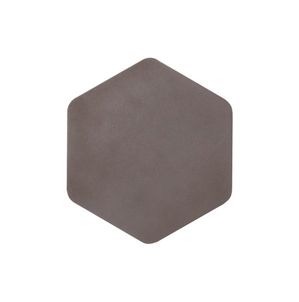 Lichfield Lighting Maxwell Magnetic Base Wall Lamp, 12W LED 3000K 498lm, 20/19cm Vertical Hexagonal Centre, Coffee/Acrylic Frosted Diffuser photo 3