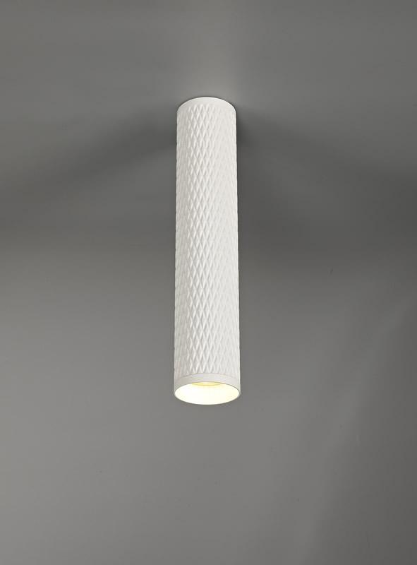Lichfield Lighting Sandfield 30cm Surface Mounted Ceiling Light, 1 x GU10, Sand White photo 3
