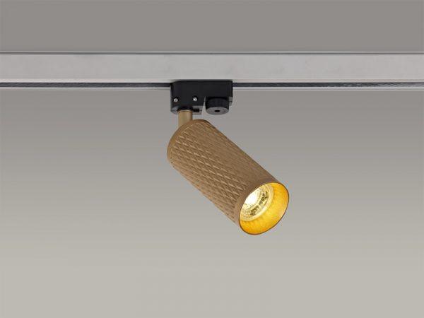 Lichfield Lighting Sandfield Track Spot Light, 1 x GU10, Champagne Gold photo 4