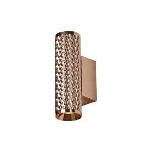 Lichfield Lighting Sandfield Wall Lamp, 2 x GU10, Rose Gold photo 1